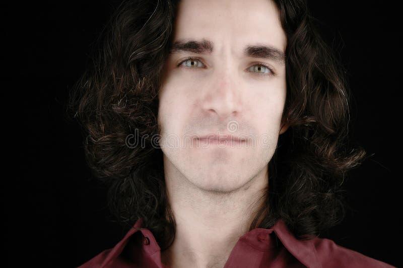Man's portrait-4 stock photo