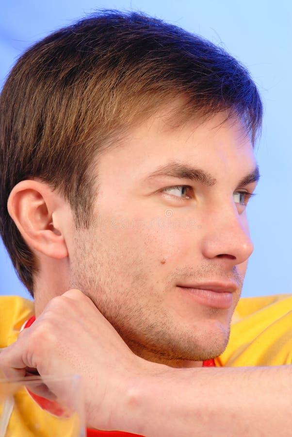Man s portrait, structure
