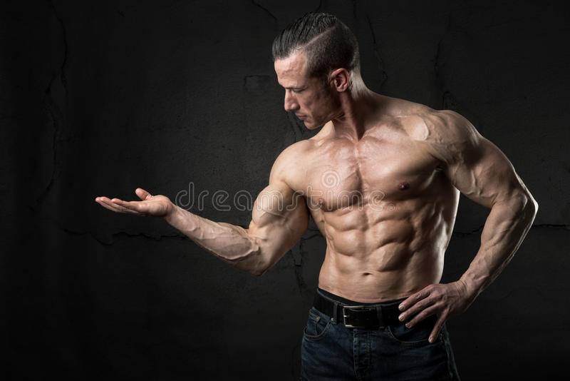 Man`s power royalty free stock image