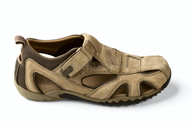 Download Man's Sandal Royalty Free Stock Photography - Image: 19627857