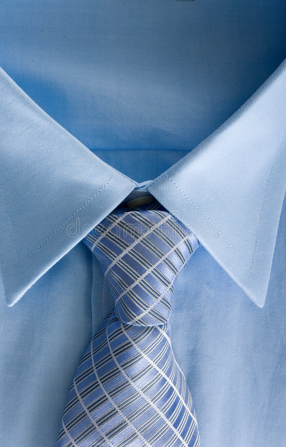 Man's Shirt and Necktie royalty free stock photography
