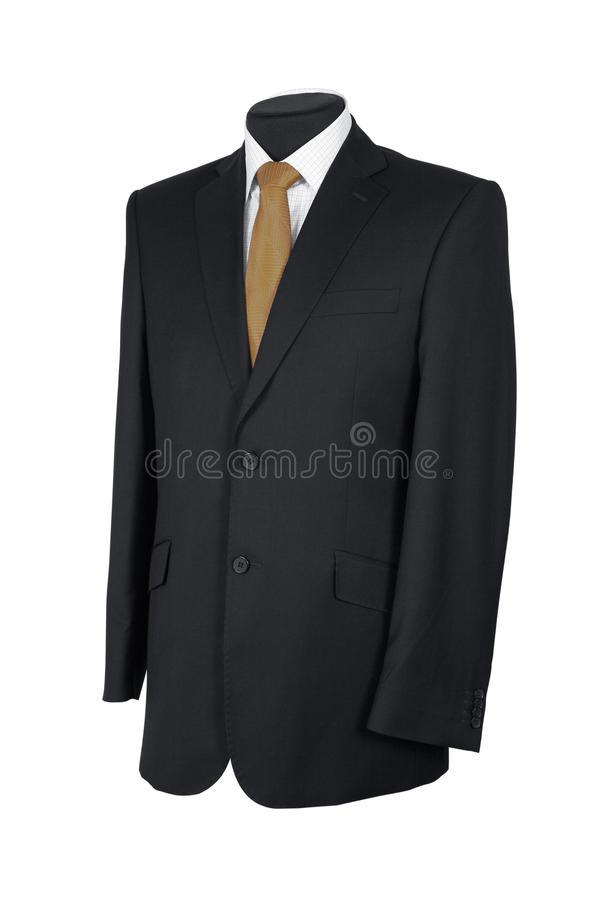 Download Man's suit isolated stock photo. Image of luxury, isolated - 14860420