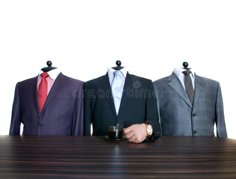 Man's suits stock photos