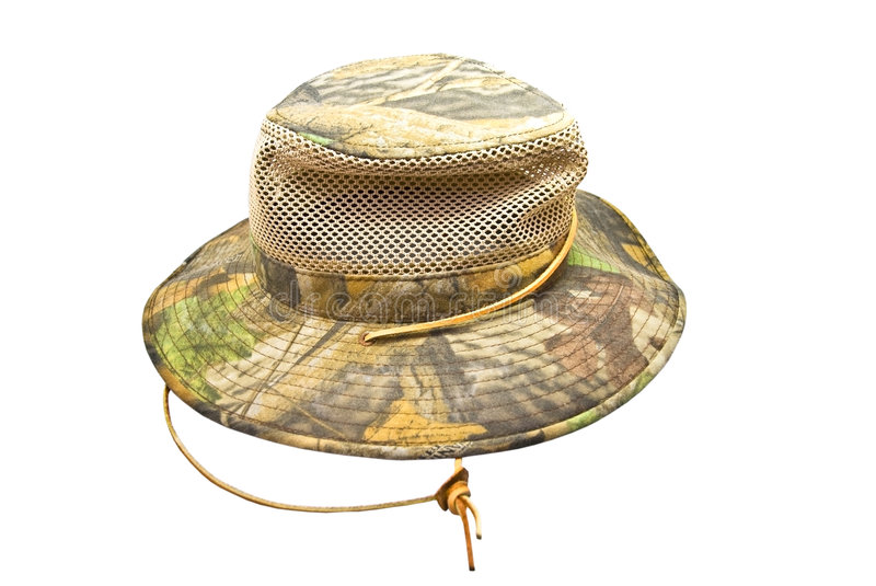 Man's Summer Hat stock images