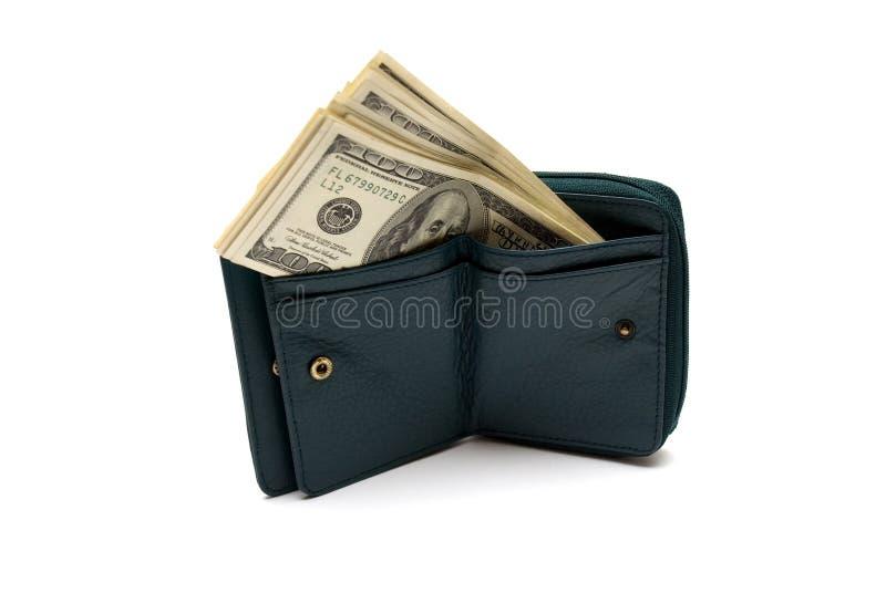 Man's wallet stock image