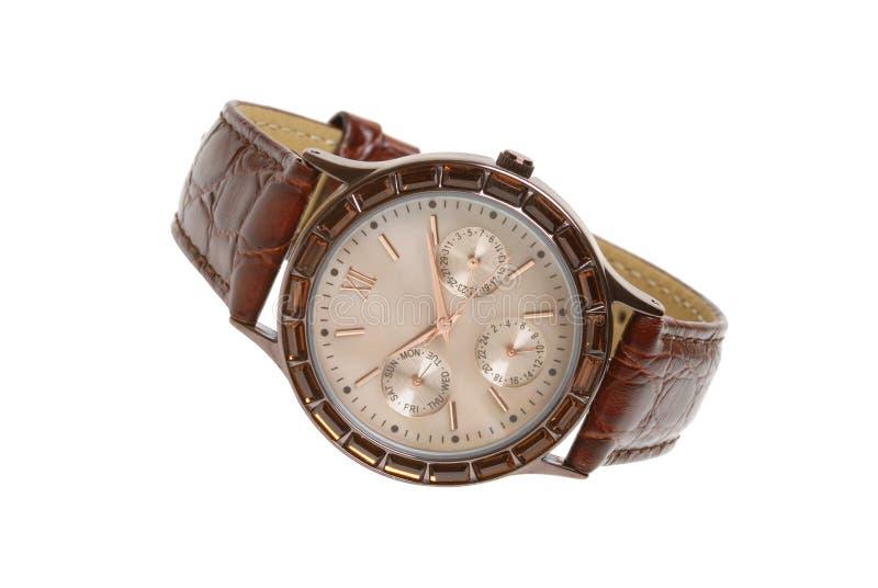 Man's watch stock photo
