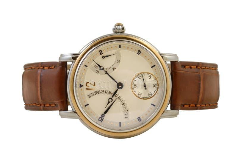 Man's watch royalty free stock image