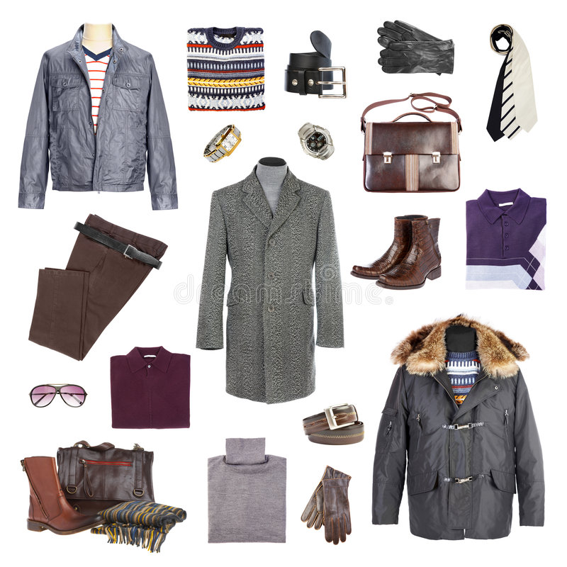 Free Man S Winter Clothes Royalty Free Stock Image - 6500346