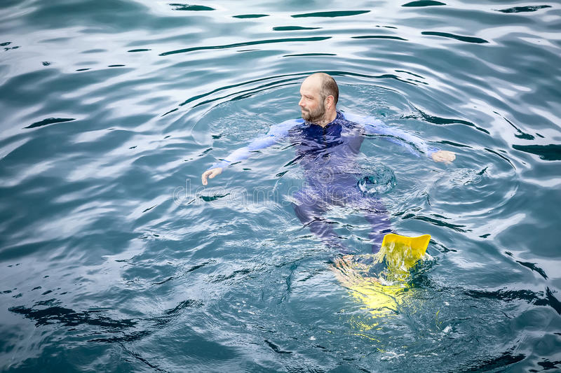Download Man in safetysuit stock photo. Image of nature, dangerous - 27350804