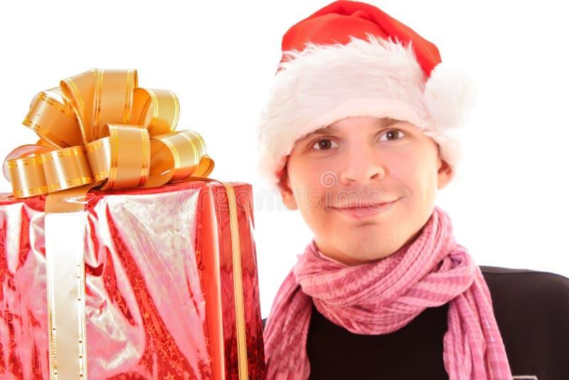 Download Man In Santa Hat Stock Photos - Image: 11974903