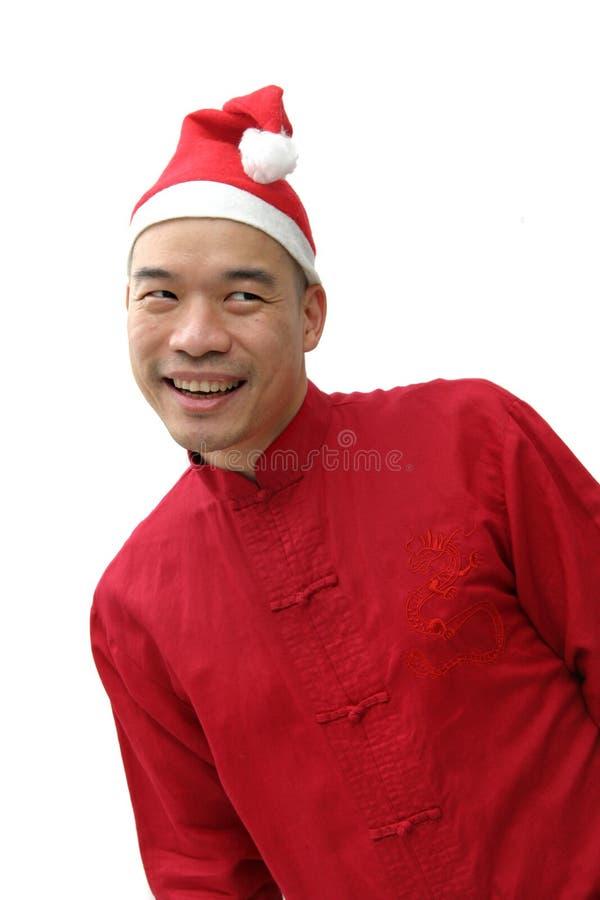 Man In Santa S Hat Royalty Free Stock Photography