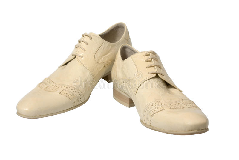 Man schoenen royalty-vrije stock fotografie