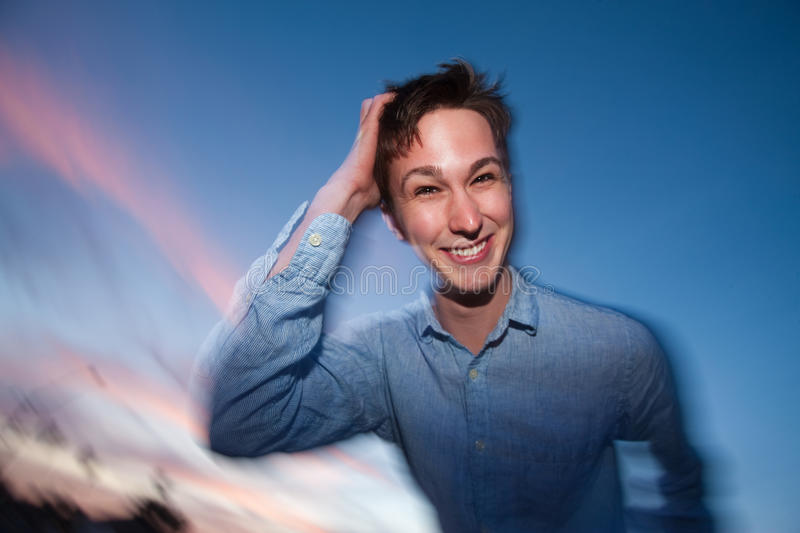 Download Man Scratches His Head Stock Images - Image: 18804044