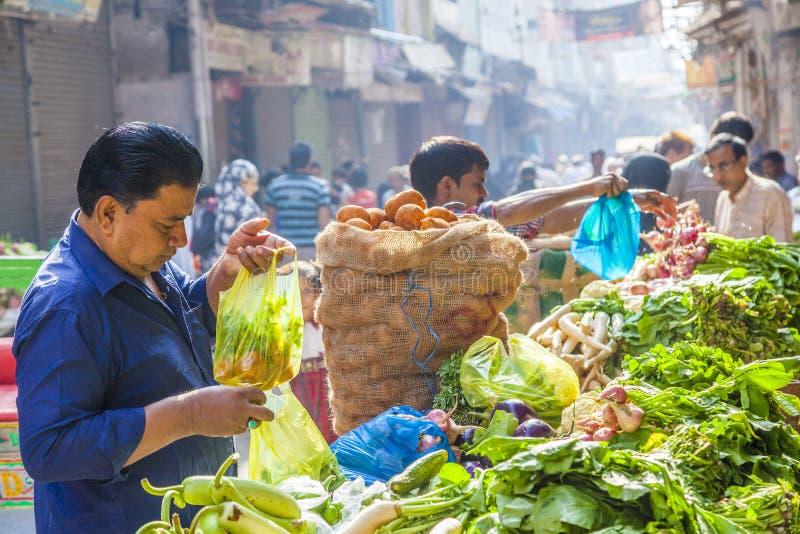 Man sells bananas at the old stock photo
