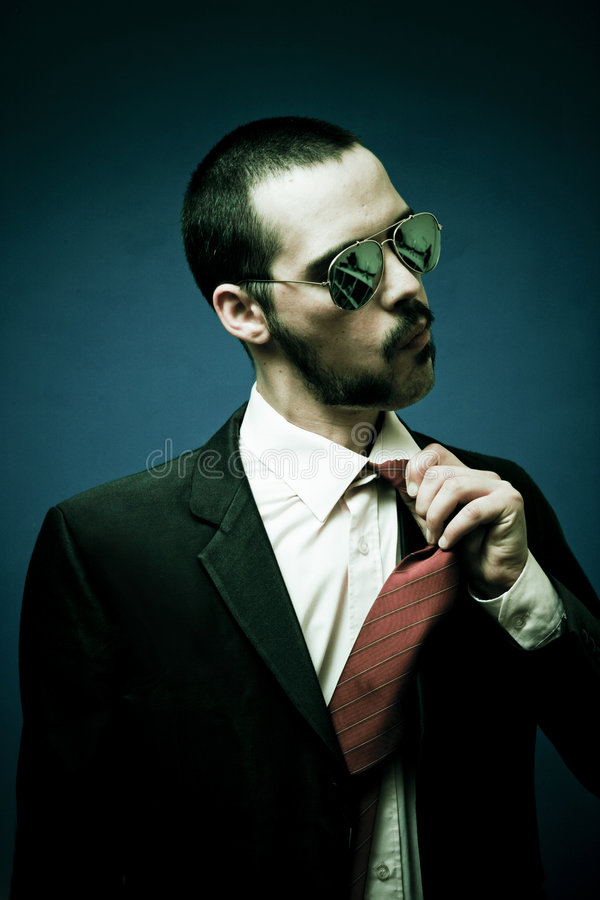 Download Man With Shades Royalty Free Stock Images - Image: 2548279