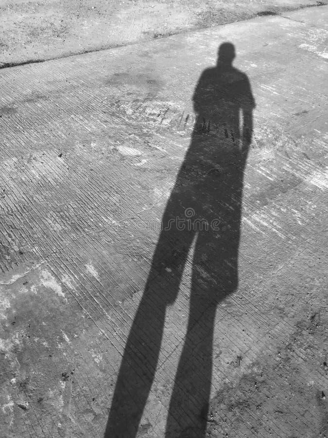 Man Shadow royalty free stock photo