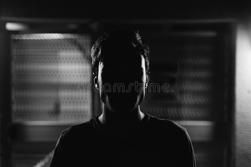 Man In Shadows Free Public Domain Cc0 Image