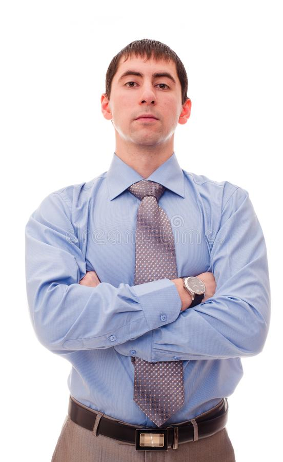 Man in shirt and tie royalty free stock image
