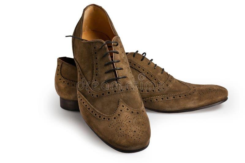 Man shoe stock photo