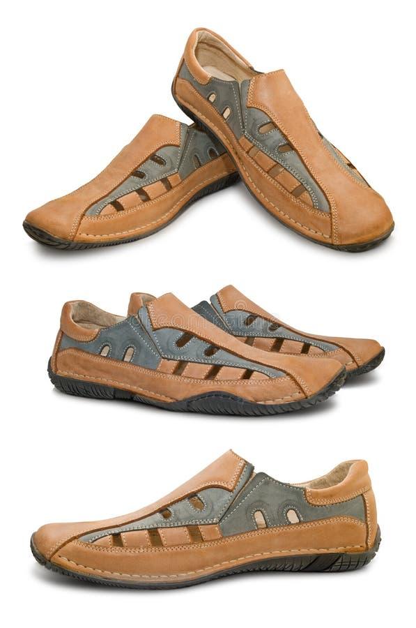 Free Man Shoes XXL Royalty Free Stock Image - 5275266