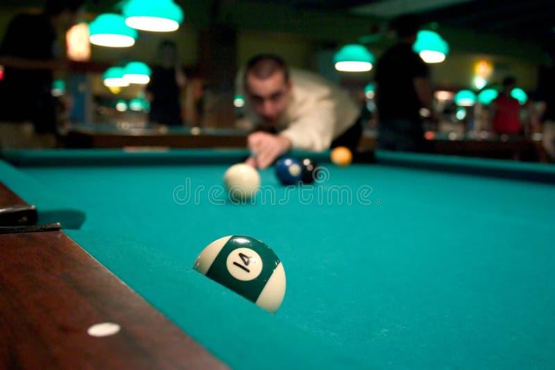 Download Man Shooting Pool Royalty Free Stock Photography - Image: 181797