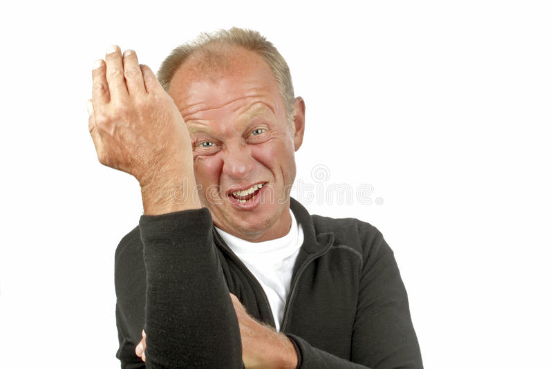 Download Man is showing off stock photo. Image of gesticulation - 20777536