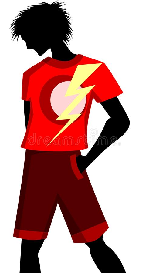 Download Man silhouette stock illustration. Image of illustration - 32240947