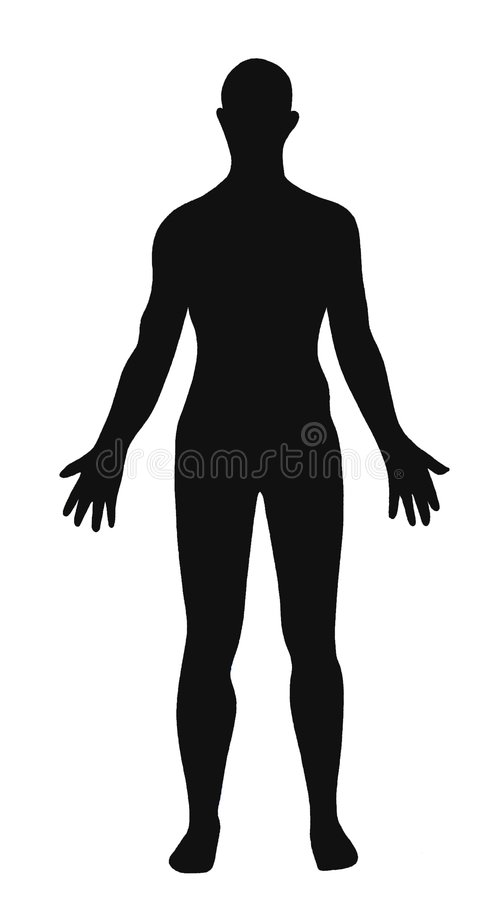 Download Man silouette stock illustration. Image of illustration - 5430150