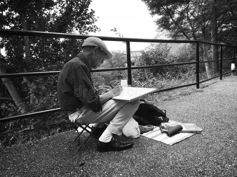 Man Sketching Free Public Domain Cc0 Image