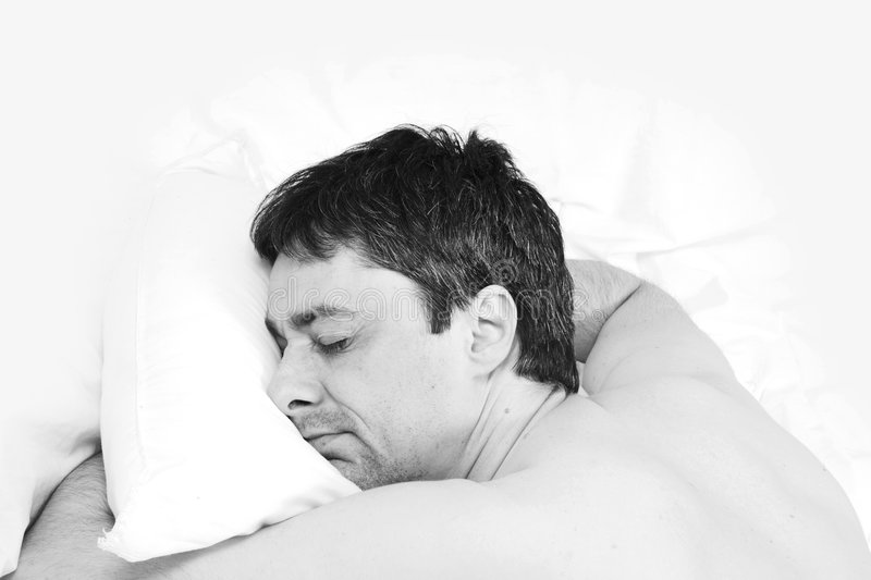 Download Man sleeping stock photo. Image of healthy, rest, wellness - 797458