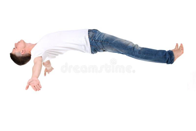 Man Sleeps stock photos