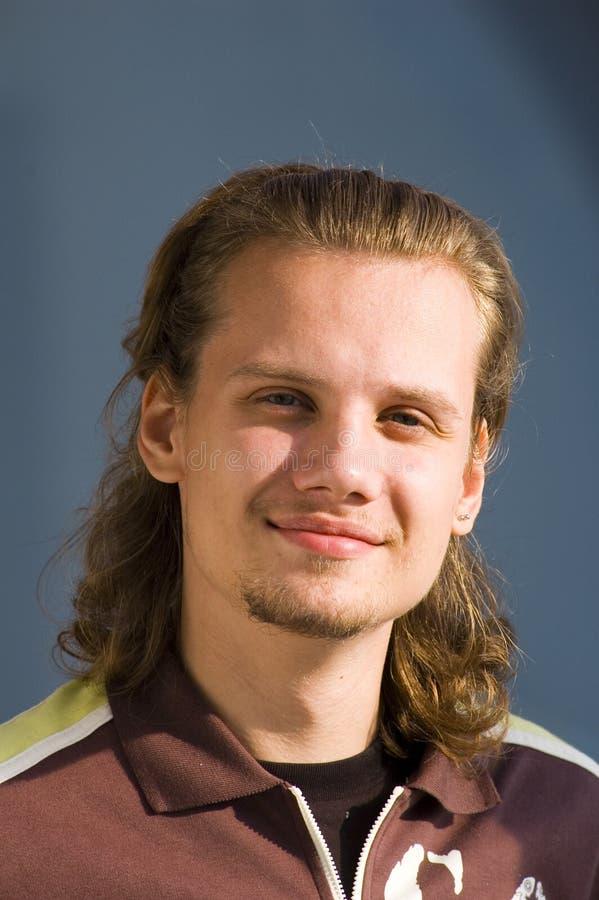 man smiling στοκ φωτογραφίες με δικαίωμα ελεύθερης χρήσης