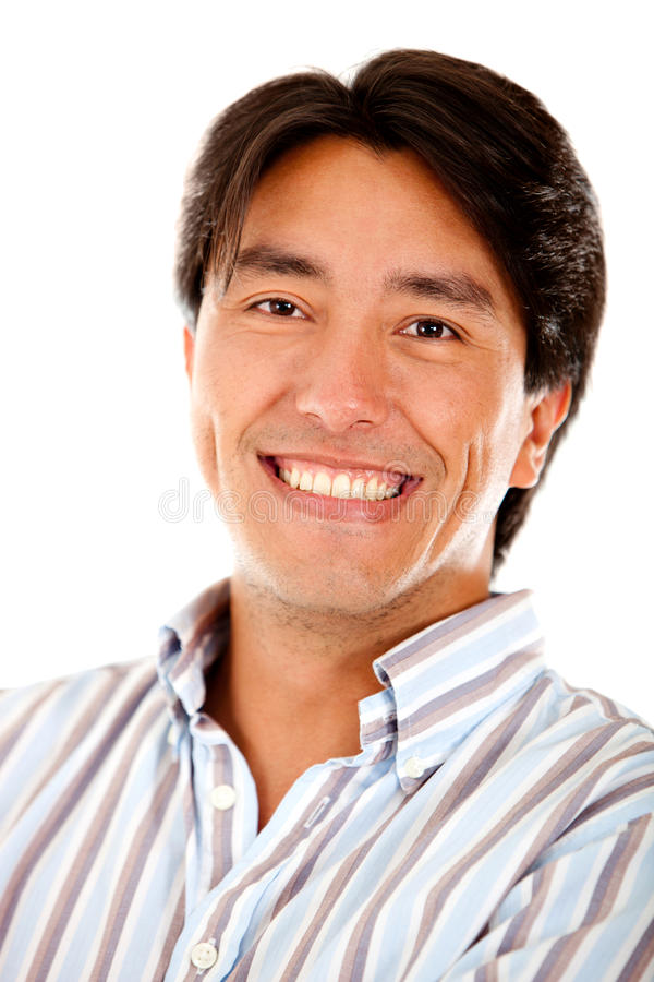 Download Man smiling stock photo. Image of smile, person, young - 19613228
