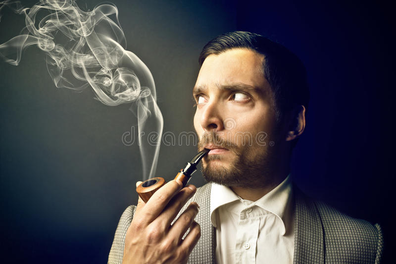 Smoking Jacket Pipe