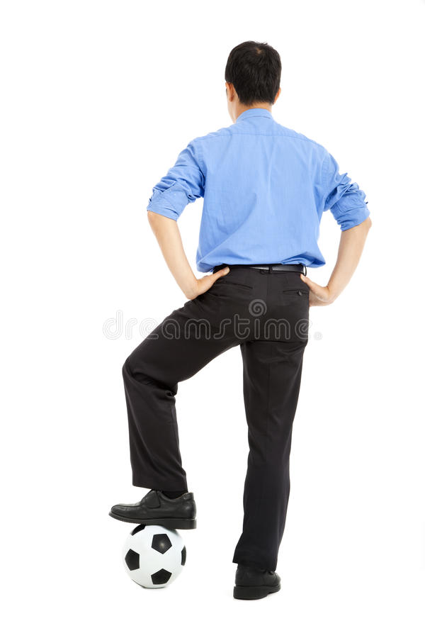 Download Man With Soccer Ball Stock Photos - Image: 25154783