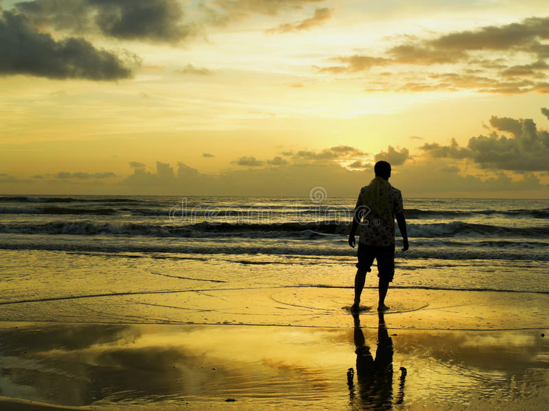 Download Looking for the sunrise stock image. Image of sunset - 29923405