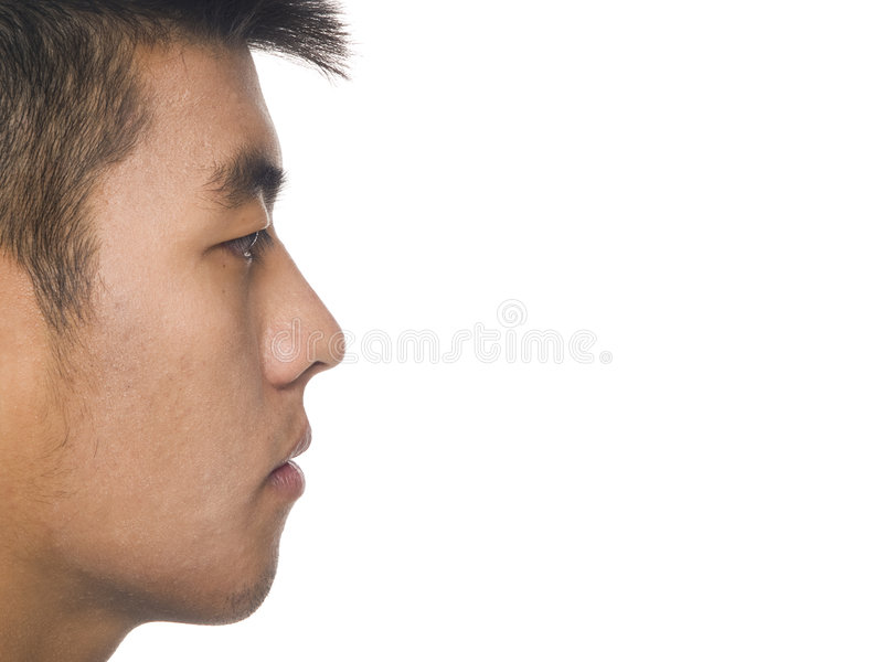 Download Man - staring stock photo. Image of handsome, view, side - 6341462