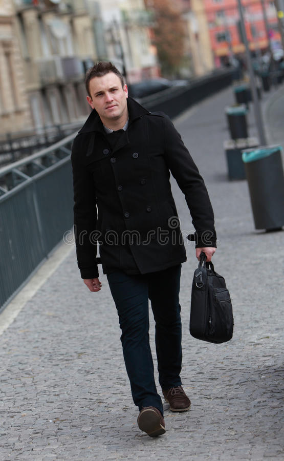 Download Man in the Street stock image. Image of handsome, stroll - 22741301