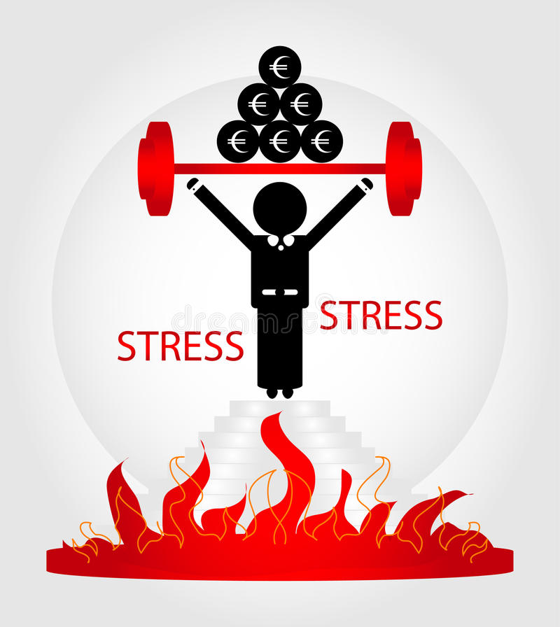 Download Man in stress stock vector. Image of collar, frustration - 20537049