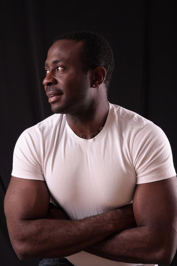 Download Man in studio stock photo. Image of close, confident, person - 7858294