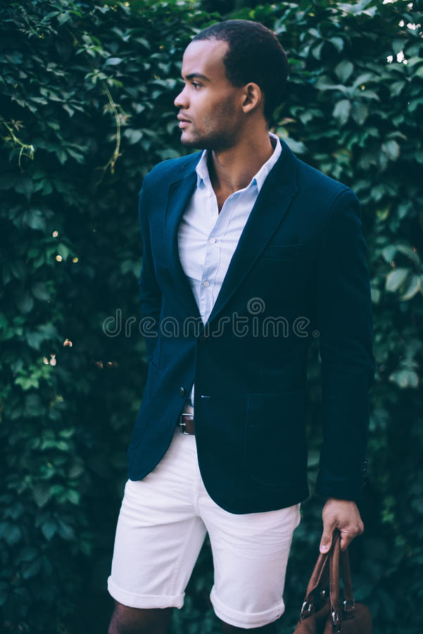 Man in style. royalty free stock photography