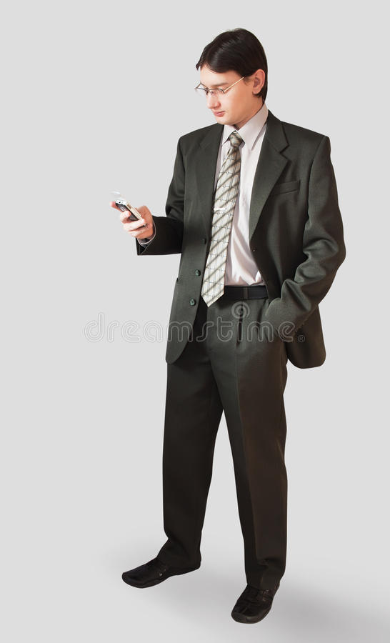 Download Man in a suit stock image. Image of jacket, portrait - 18741549