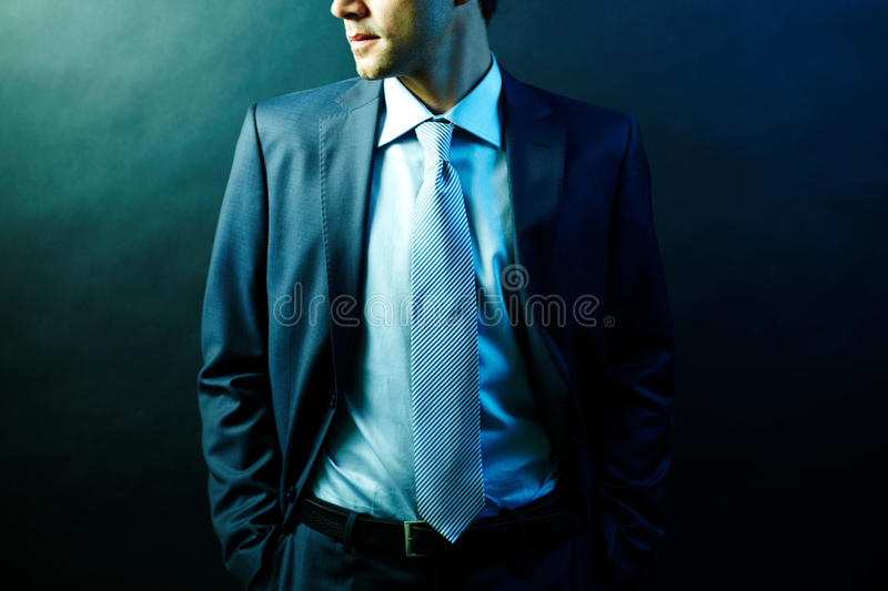Man In Suit Stock Photos