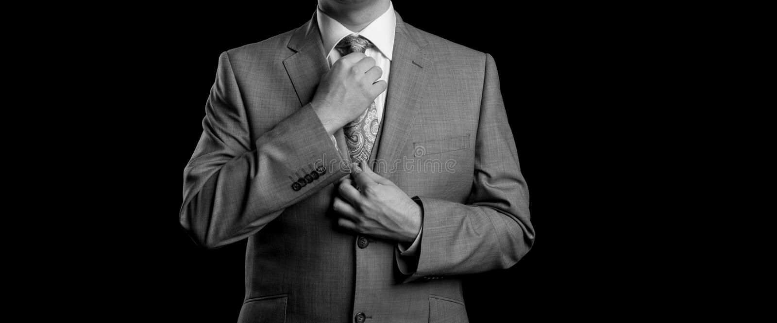 Man In Suit royalty free stock image
