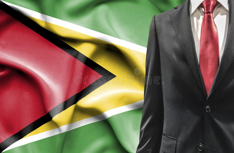 Man in suit from Guyana royalty free stock images