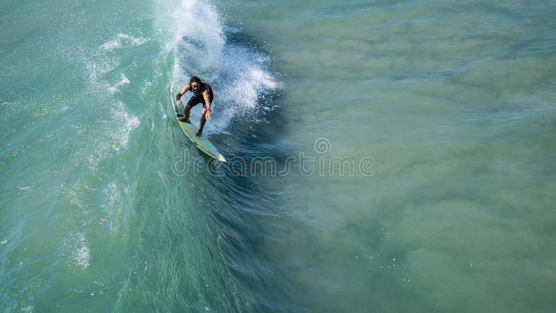 Man Surfing On Green Water Free Public Domain Cc0 Image