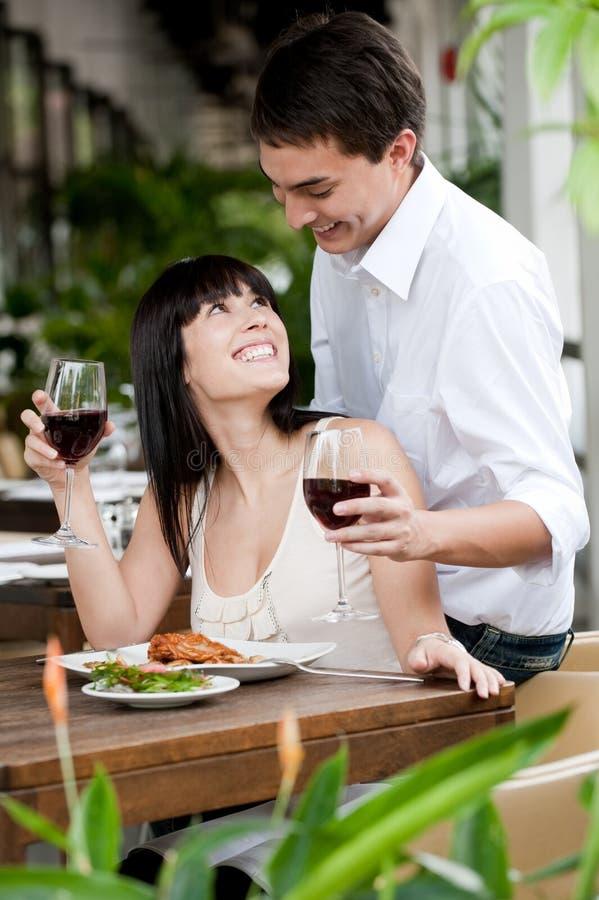 Man Surprises Partner royalty free stock photos