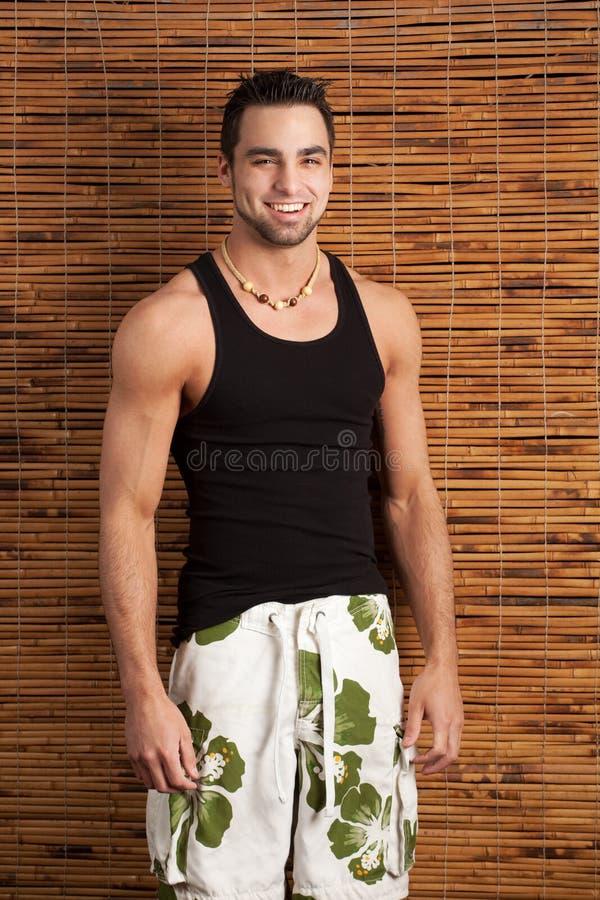 Man in Swimwear