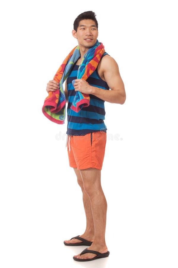 Man In Swimwear Royalty Free Stock Images
