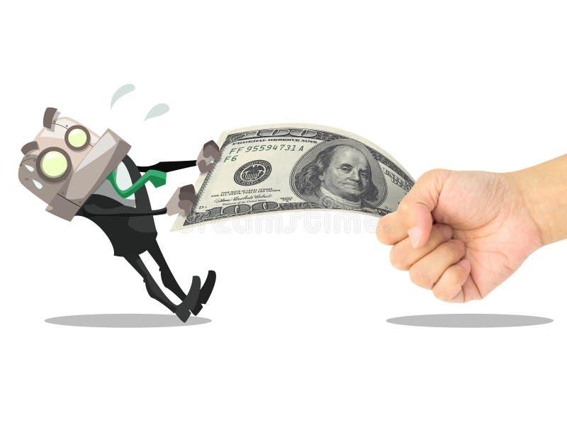 Man Take Money Royalty Free Stock Photography